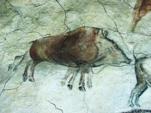 malba v jeskyni Altamira