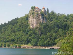 hrad u jezera Bled