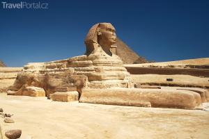 Velká sfinga a Velká pyramida