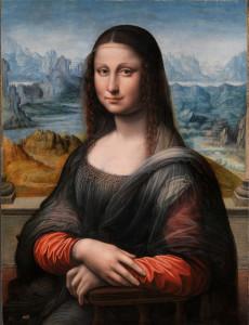 kopie Mony Lisy v Museo del Prado