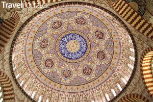 kopule v Selimově mešitě
