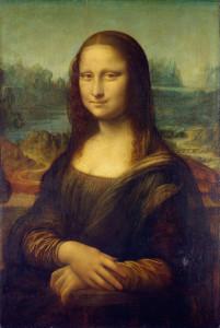 nejslavnější portrét na světě Mona Lisa