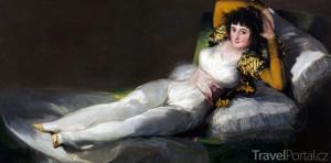 obraz Oblečená Maja