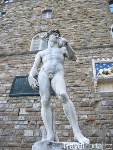 kopie sochy Davida