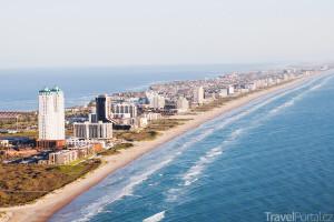 nejdelší pláž v USA se jmenuje Padre Island