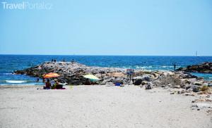 pláž v Palavas les Flots