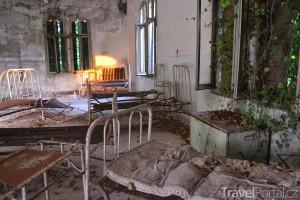 ruiny nemocnice