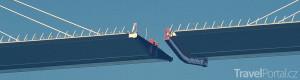 spojení ocelové mostovky