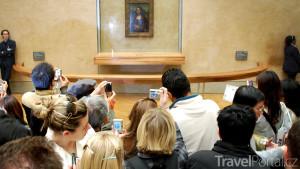 Mona Lisa v Louvre