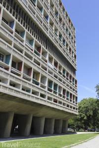 sídliště Unité d'habitation v Marseille