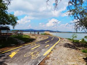 cyklistické stezky u jezera Velence