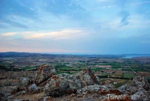 výhled z hory Vigla
