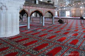 Selimova mešita interiér