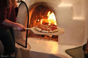 připrava pizzy