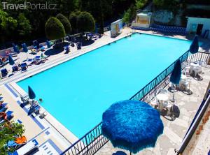 bazén hotelu Terme San Filippo