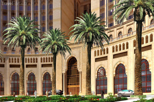 hotel Abraj Kudai vizualizace