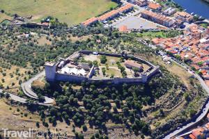hrad z výšky
