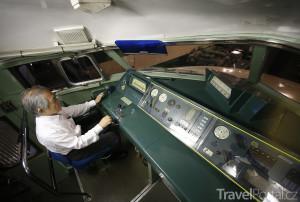 kabina strojvůdce
