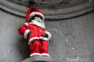 čurající Santa
