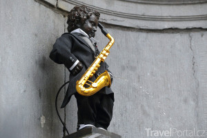 čurající hudebník