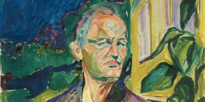 autoportrét Edvarda Munche
