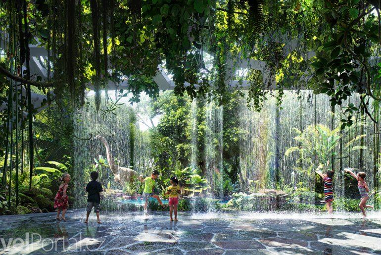 deštný prales v Dubaji