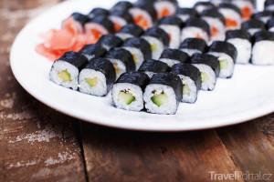 levné sushi