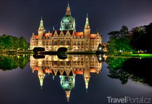 Nová radnice v Hannoveru