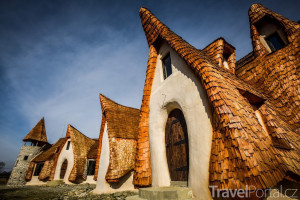 Hobití hotel v Transylvánii