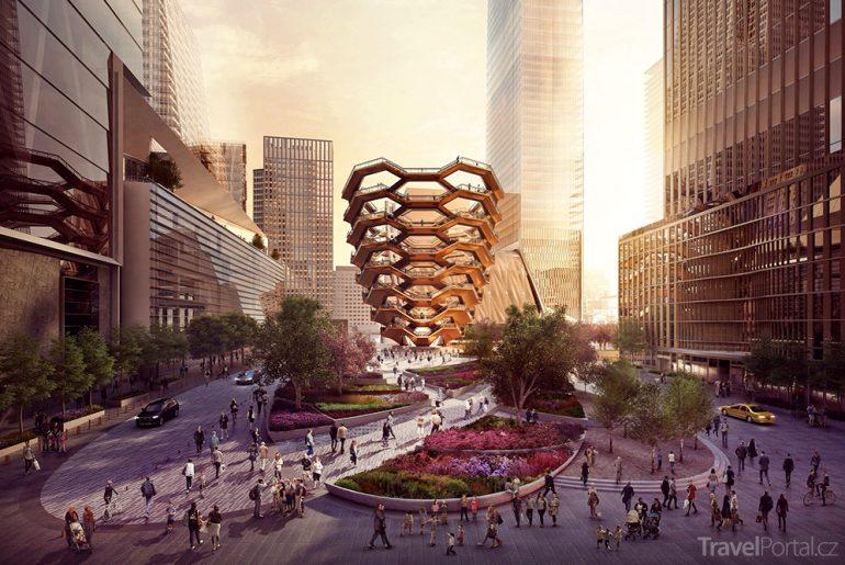 čtvrť Hudson Yards vizualizace