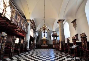 kaple zámku Kronborg