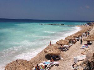 pláž v Libanonu