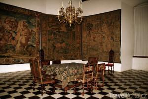 sál zámku Kronborg
