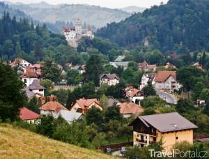 hrad a vesnice Bran