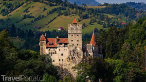 hrad Bran v Transylvánii