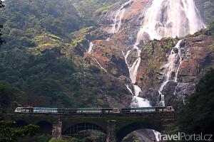 vodopády Dudhsagar