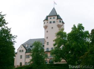 zámek Château de Colmar-Berg