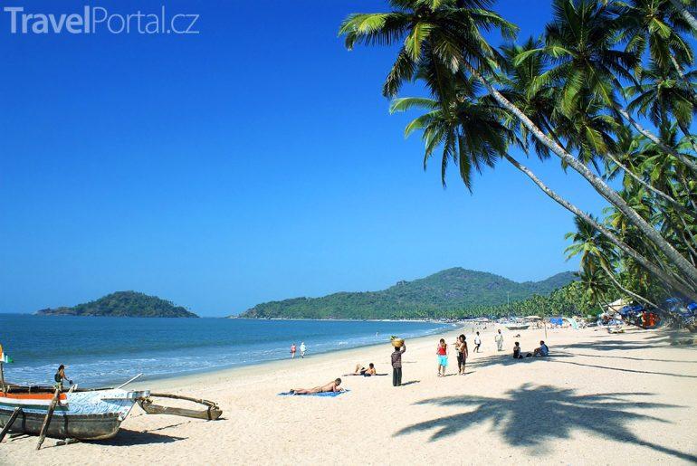 pláž ve státě Goa