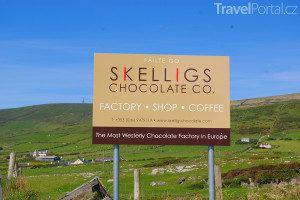 čokoládovna Skelligs Chocolate Company