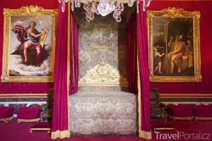 Ložnice ve Versailles