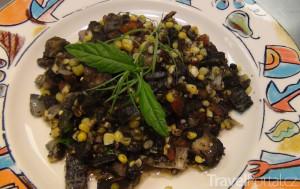 huitlacoche na talíři
