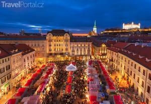 Vánoční trhy 2016 v Bratislavě potrvají od 18. 11. do 22. 12.