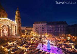 Vánoční trhy 2016 v Budapešti potrvají od 11. 11. 2016 do 1. 1. 2017