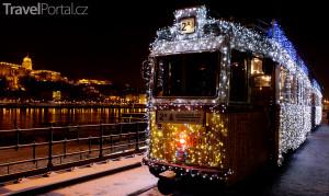 vánoční Budapešť
