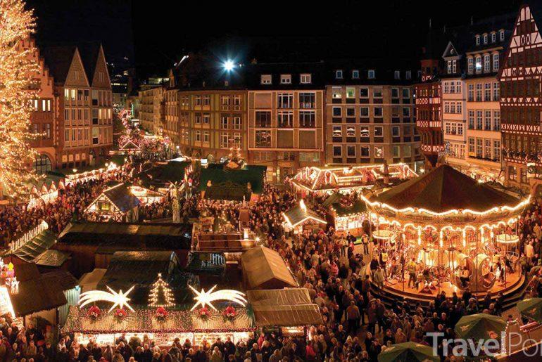 Vánoční trhy ve Frankfurtu