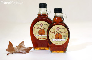 javorový sirup alias maple syrup