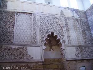 interiér synagogy