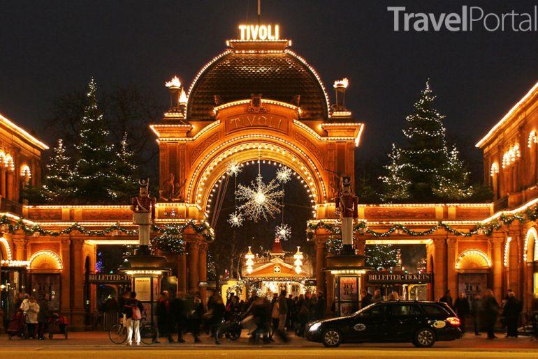 kodaňské Vánoce v Tivoli