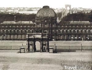 Tuilerijský palác před vyhořením