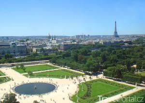 zahrady Tuileries